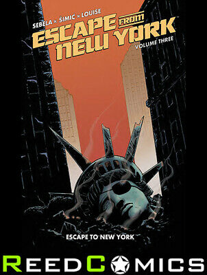 ESCAPE FROM NEW YORK VOLUME 3 GRAPHIC NOVEL New Paperback Collects Issues #9-12