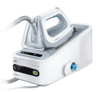 Braun CareStyle 5 2400W Steam Generator Iron with Eloxal 3D Soleplate *White* B+