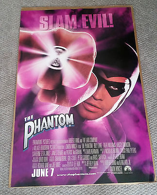The Phantom Original Movie Poster (1996) 27x40 Billy Zane