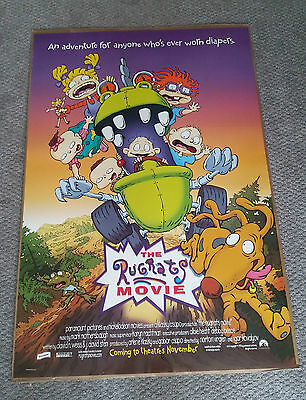 The Rugrats Movie (1998) Original One Sheet Movie Poster Animation Kids 27x40