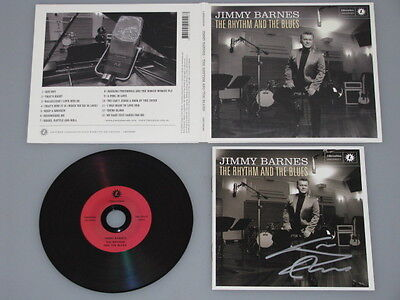 COLD CHISEL JIMMY BARNES Hand Signed CD Booklet