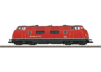 Märklin 88331 Diesel locomotive BR on 4/4 the SBB blazing red # in #