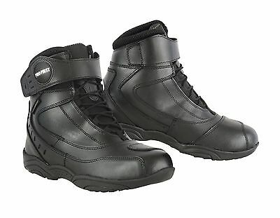 Waterproof Short Ankle Touring Motorbike Motorcycle Boots Shoes Casual Racing