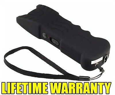 VIPERTEK BLACK VTS-979 - 110 BV Rechargeable LED Stun Gun + Case