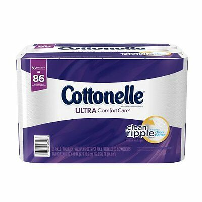 Cottonelle Ultra Comfort Family Roll Toilet Paper,Bath Tissue,36 Rolls {5128320}