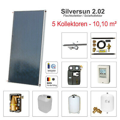 Solarbayer Solar technology system 10,10 m²² Energy Warm water and Heater