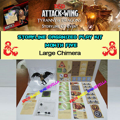 DUNGEONS & DRAGONS ATTACK WING TYRANNY OF DRAGONS OP KIT 5 - CHIMERA (Quimera)