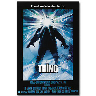 The Thing Horror Classic Movie Silk Poster 12x18 24x36 inch 002