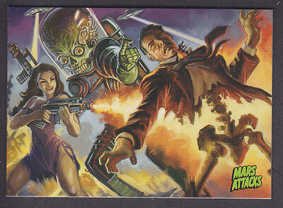 Mars Attacks Occupation - Base Card - # 21