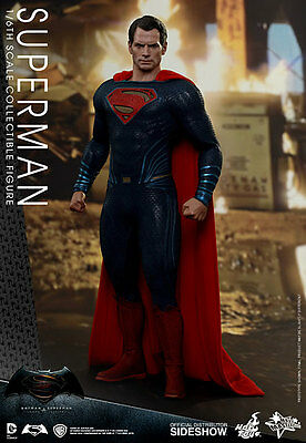 "Superman Dawn of Justice Batman vs Superman 1/6 MMS343 12"" Figur Hot Toys"