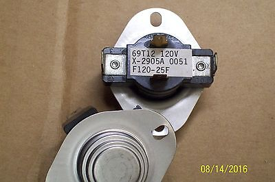 *new* Thermostat Limit Switch 69T12 , F120-25F