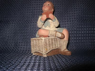 Sarah's Attic Boy Playing Cards WOW inventory #4324 figurines