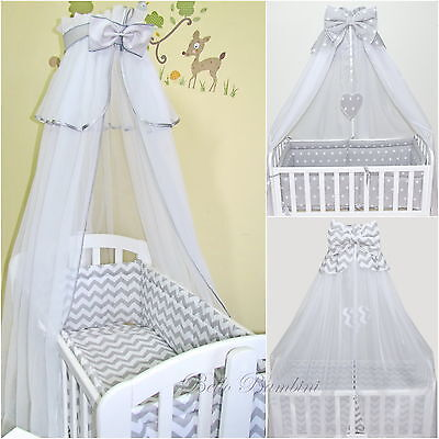 CANOPY drape-to fit baby swinging crib/wicker basket/craddle