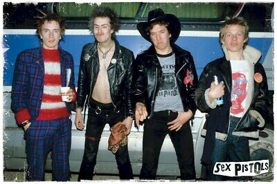 THE SEX PISTOLS ~  WE'RE A MESS 24x36 POSTER Music Sid Vicious Johnny Rotten