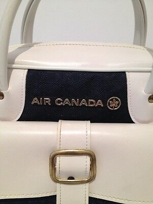 Vintage Air Canada Travel Bag By Blondy Art Made In Canada:new & Never Used!