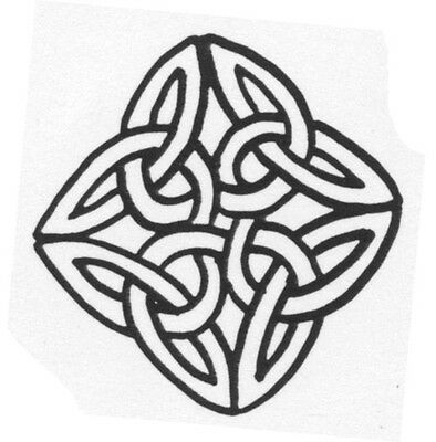 Unmounted Rubber Stamps, 3pc Lot, Celtic Knots, Scottish Stamps, Celtic Stamps