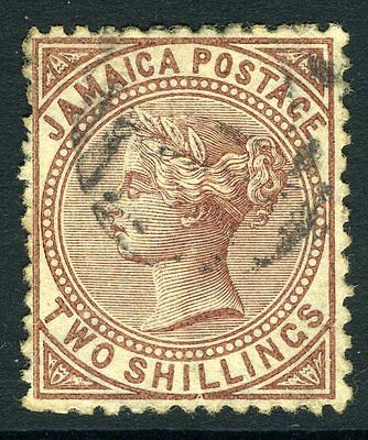 JAMAICA-1875 2/- Venetian Red Sg 14 FINE USED V11189