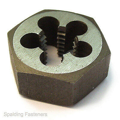 "UNF Hexagon Die Nuts British Made Quality Choose Your Size 6-40 To 1"" Diameters"