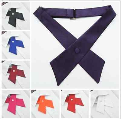 Adjustable School Girls Uniform Bow Tie Students Bowknot Necktie Party Neck tie