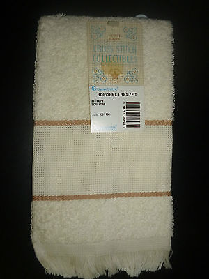 Finger Tip Towel For Cross  Stitch- Charles Craft Brand