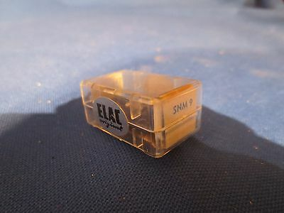 Nos Elac Snm9 Turntable Stylus Needle For Cartridge Original In Factory Display