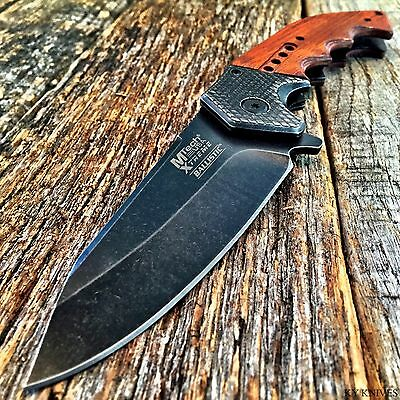 MTECH XTREME BALLISTIC Spring Assisted Open TACTICAL Pocket Knife BOWIE MXA829BW