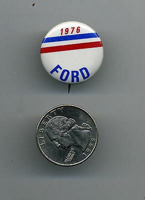 """1976 GERALD FORD PRESIDENT Pin BUTTON Pinback 1""""  Not So Common"""