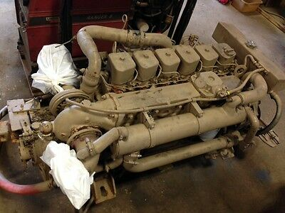 CUMMINS 6BT 210 Hp Marine Diesel Engine Running Take Out- Usa Shipping  Available