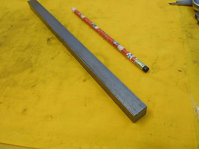 "1018 SQUARE STEEL BAR STOCK machine shop rod 5/8"" x 12"" OAL"