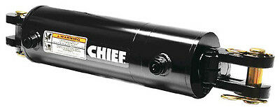 """Chief Wc Welded Cylinder: 2"""" Bore X 8"""" Stroke - 1.125"""" Rod 3000Psi"""