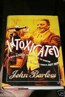 Intoxication Coca Cola Coke Invention of Soda John Barlow Book MINT Unused HB
