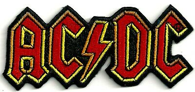 AC/DC - LOGO - IRON or SEW ON PATCH