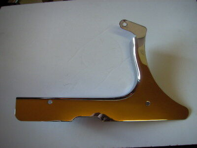 Belt Guard Lower Softail 90-99 With 70t Chrome Oem 60394-90a