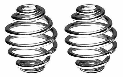 "Solo Seat Spring 3"" Pair Chrome Custom Applications fits Harley Davidson"
