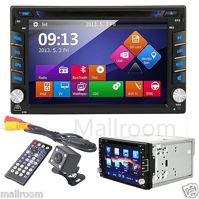 AUTORADIO BLUETOOTH TOUCHSCREEN VIDEO BILDSCHIRM 2DIN DVD USB MP3 Navigation GPS