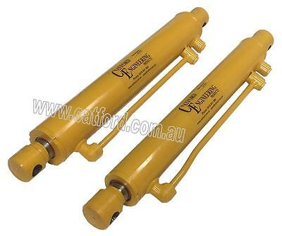 Front End Loader Bucket Cylinder/Ram 16 Inch Stroke Catford Yellow Line
