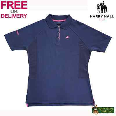 Harry Hall Maltby Ladies Polo Shirt - Sale **FREE UK Shipping**