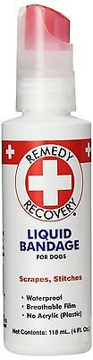 Remedy + Recovery Liquid Bandage for Dogs, 4-Ounce (43404) [1Pack]Waterproof AOI