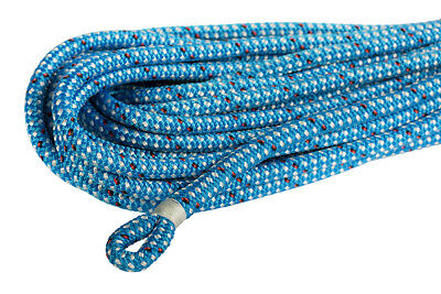 Dyneema Core 12mm X 30m w 25mm Spliced & Whipped Eye, Endura Blue