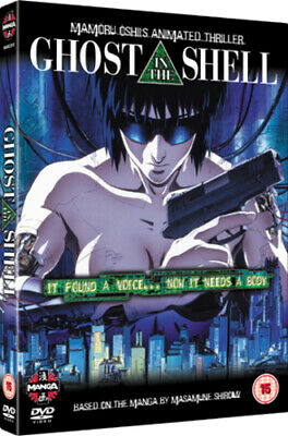 Ghost in the Shell DVD (2004) Mamoru Oshii cert 15 Expertly Refurbished Product