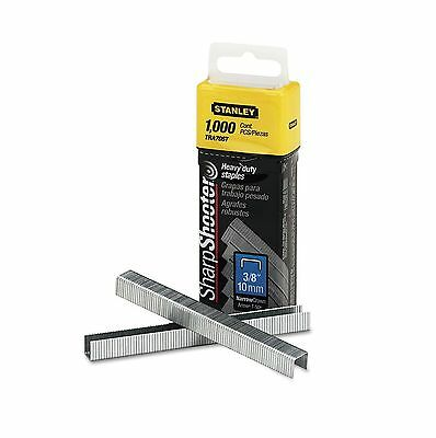 Stanley Bostitch Sharpshooter 3/8 Inch Leg Length Staples 1,000 Pack Heavy Duty