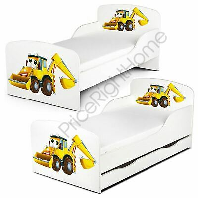 Price Right Home Diggers Toddler Bed With Or Without Storage + Mattress Options
