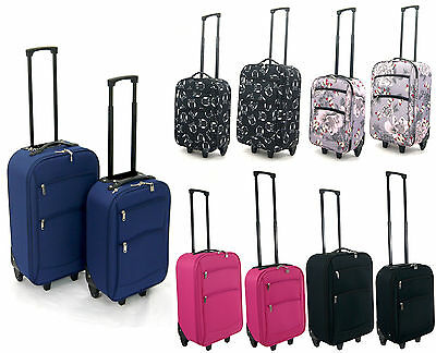 Lightweight Cabin Ryanair Easyjet Airline Small SuitCase Travel Trolley Case Bag
