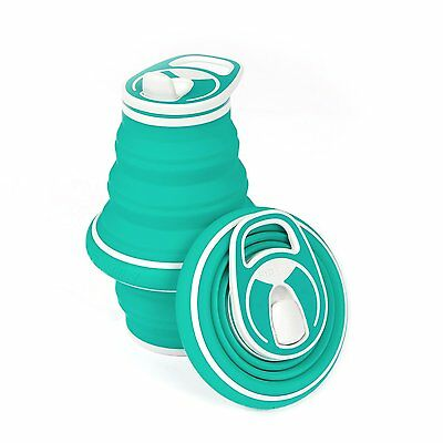 HYDAWAY Collapsible Bottle 21oz Opal The ultimate travel & hiking companion