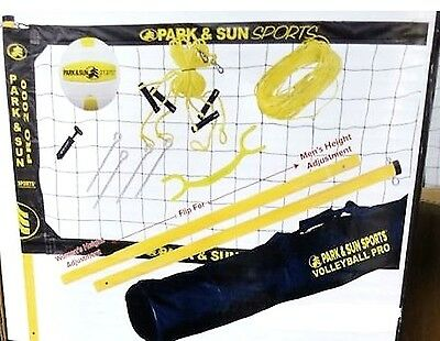 New Park & Sun Pro 2000 Portable Volleyball System