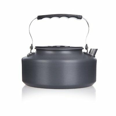 1.1L Portable Outdoor Hiking Camping Picnic Water Kettle Teapot Coffee Pot DW