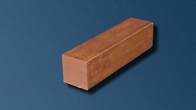 10Mm Square Copper Bar 300Mm Long