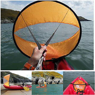 Downwind Kayak Canoe Paddle Saile Wind Rowing Popup Boats Ship Foldable Sailing