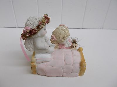 KW-283 Dreamsicles Figurine NOW I LAY ME Bedside Prayer 1995 #DC406