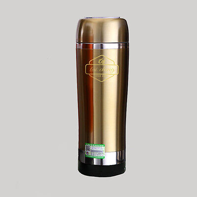 Universal 12V Portable Car Electric Stainless Heated Thermos Car Cup Bottle Mug